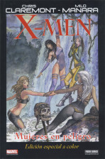 Marvel Graphic Novels. X-Men: Mujeres en Peligro (Color)