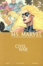 Ms. Marvel Vol.1 nº 2 - Civil War