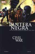 Pantera Negra Vol.1 nº 3 - Civil War