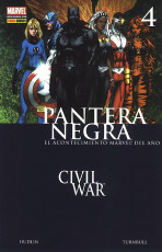 Pantera Negra Vol.1 nº 4 - Civil War