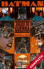 Batman: Juegos de Guerra Vol.1 - Completa -