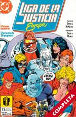 Liga de la Justicia Europa Vol.1 - Completa -
