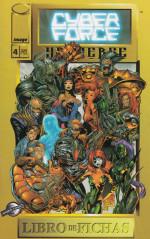 Cyberforce Universe, Libro de Fichas