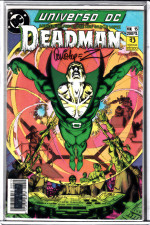 Universo D.C. #15 - Deadman - Firmado / Signed