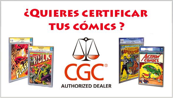 Cómics CGC